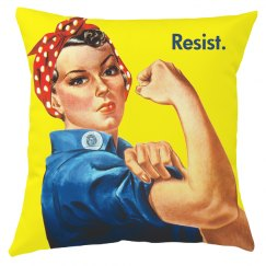 Women Resist All Over Print Pillow