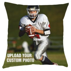Custom Sports Photo Pillow