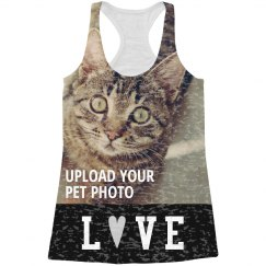 Love Custom Pet All Over Print Tank