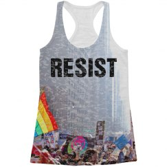All Over Print Protest Tank