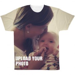 Family Photo All Over Print Shirt