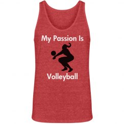 My passion is volleyball