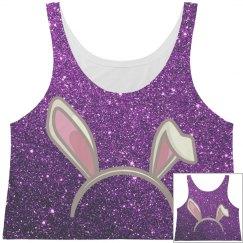 Pink Bunny Ears Purple