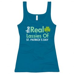 Real Lassie St. Patrick's Day