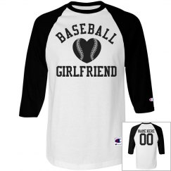 Trendy Baseball Girlfriend Jersey With Custom Back