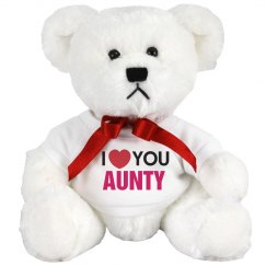 I love you Aunty!