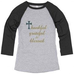 thankful, grateful & blessed
