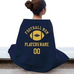 Custom Football Mom Fan