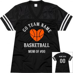 Custom Basketball Mom Numbers