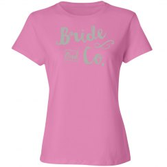 bride and company tee