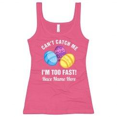 Custom Easter Egg 5K Race Text