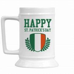Happy St. Patrick's Stein