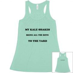 Kale Shakes Tank