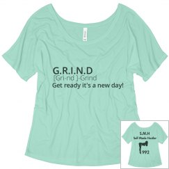 Grind definition tee