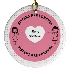Cute Christmas Ornaments for Sisters