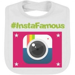 InstaFamous Emoji Baby Bib