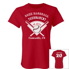 Baseball Tournament Tee