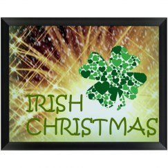 Irish Christmas Wall Plaque