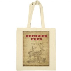 Reindeer Feed Tote Bag