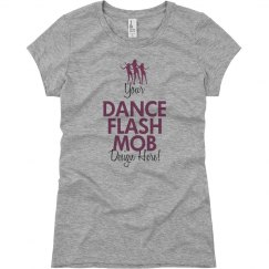 Design a Flash Mob Tee