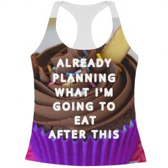 Workout Dessert All Over Print Tank