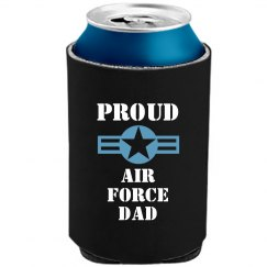 Air Force Dad Can Cooler