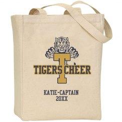 Tigers Cheer Tote Bag