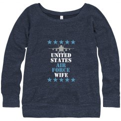 USAF Wife Sweater