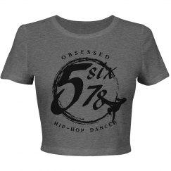 Obsessed Hip-Hop Girl Black Logo