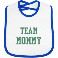 Team Mommy Bib