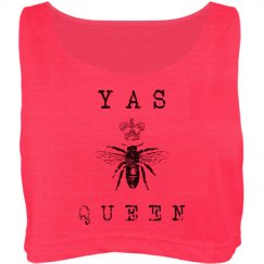 YAS QUEEN BELLY SHIRT VINTAGE