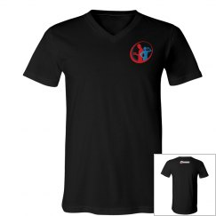 Train with Joe V-neck Tshirt