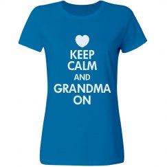 Keep Calm Grandma On