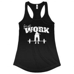 JUST WORK -black