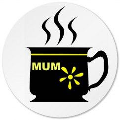 Mums Tea Coaster