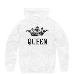 Vintage King & Queen Hoodies 2