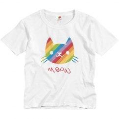 Rainbow Cat ~ Meow!