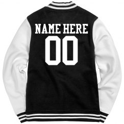 Roller Derby Girl Jacket With Custom Name Number