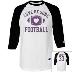 Rowdy Football Mom Shirts