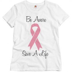Misses Breast Cancer Awareness Tee