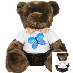 Butterfly Teddy Bear
