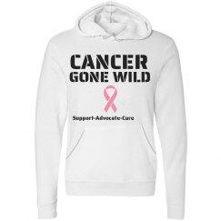 Cancer Gone Wild Hoodie