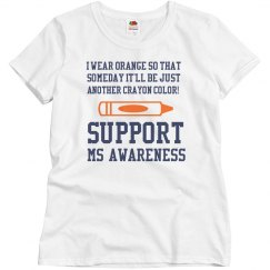 MS Awareness Crayon