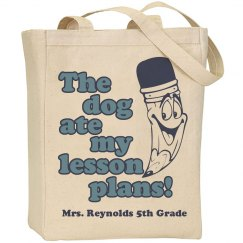 Teacher's Day Tote