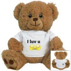 I luv you! Bear