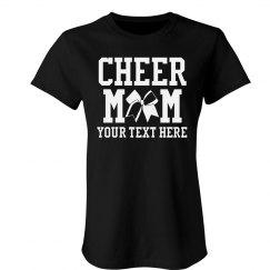 Custom Bling Cheer Mom