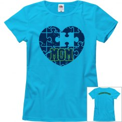 'Autism Mom' Relaxed Fit Misses