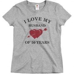 50th Wedding Anniversary shirt