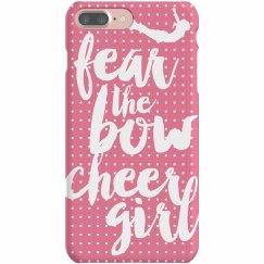 Fear the Bow Cheer Girl