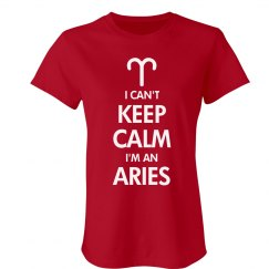 Keep Calm Aries
